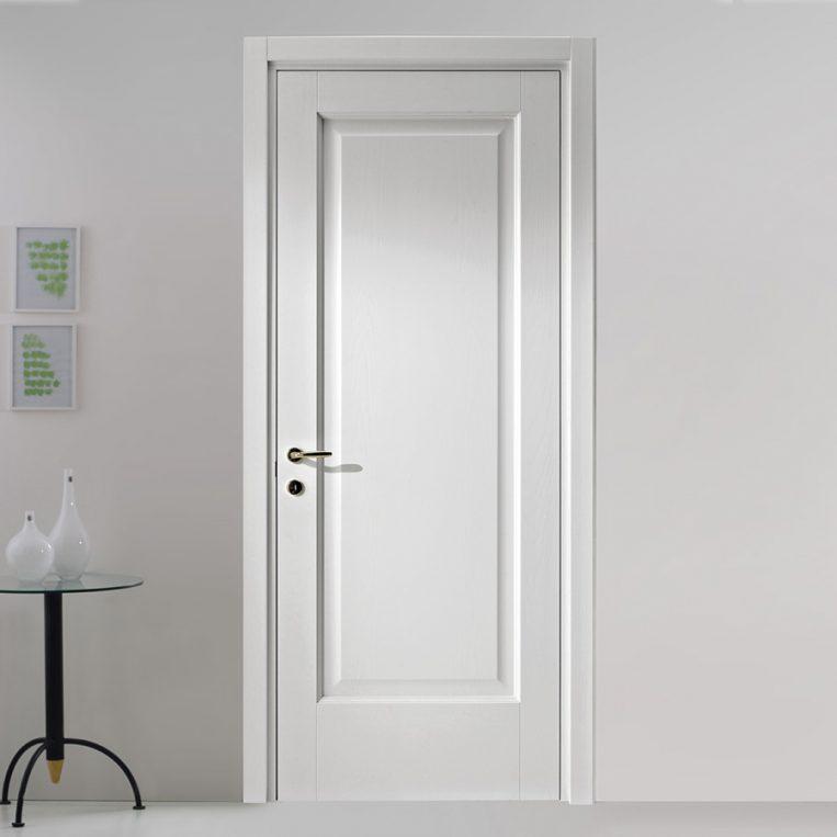 Porta tamburata selly bianca farm legno - Porta tamburata ...