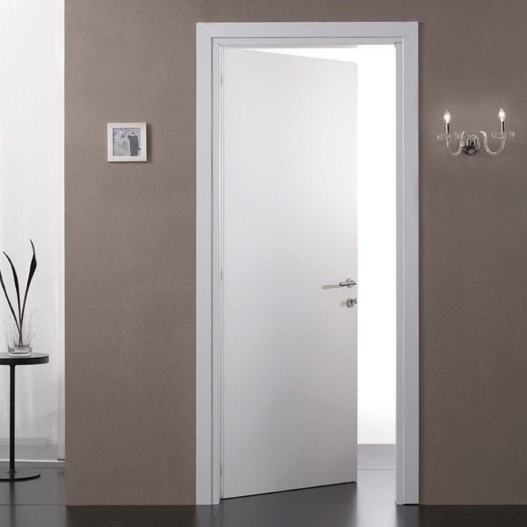 Porta tamburata white farm legno - Porta tamburata legno ...