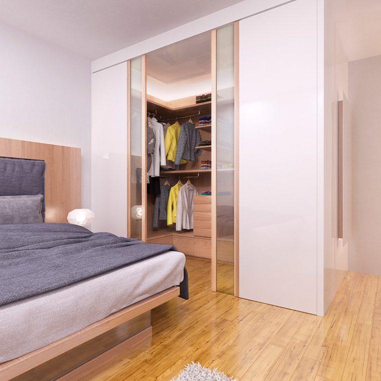 Cabina armadio design farm legno for Design della cabina e planimetrie